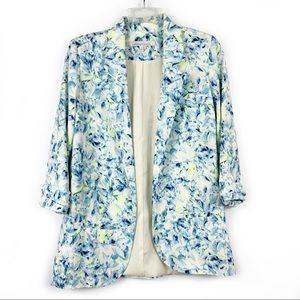 Lovers + Friends Marigold Blazer Abstract Floral